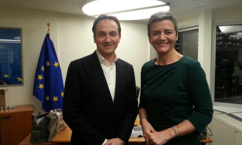 AGEVOLAZIONI ALLUVIONE '94 A RISCHIO: INCONTRO CON LA COMMISSARIA UE