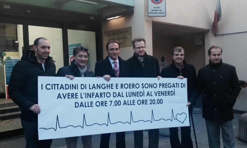 EMODINAMICA: Per Alba vorrei un sindaco egoista. Dopo il tribunale ad Asti  e la Gdf a Bra, ora l'emodinamica va a Savigliano