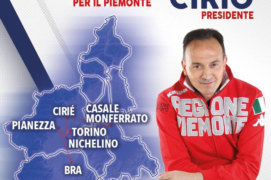 AGENDA VELOCE_11 MAGGIO: OGGI A TORINO, CASALE MONFERRATO, CIRIÈ, NICHELINO, PIANEZZA, BRA