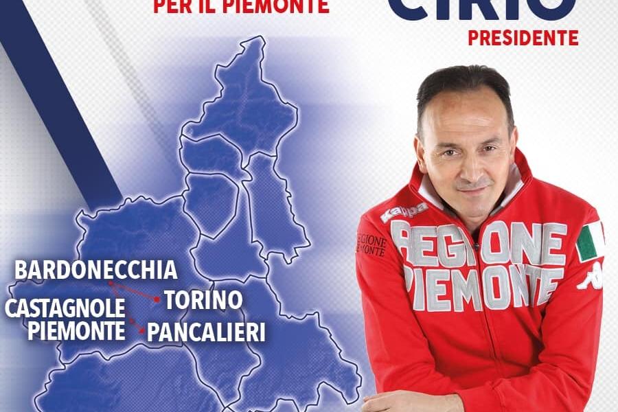 AGENDA VELOCE_8 maggio a TORINO, BARDONECCHIA, CASTAGNOLE PIEMONTE E PANCALIERI