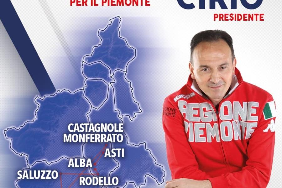 AGENDA VELOCE 9 MAGGIO: OGGI AD ALBA, ASTI, CASTAGNOLE MONFERRATO, CUNEO, SALUZZO, RODELLO